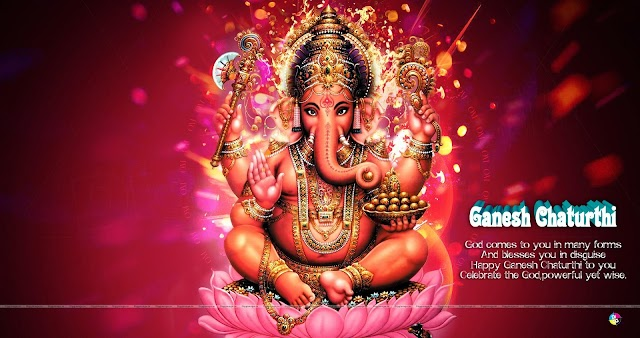 Ganesh Chaturthi Greetings and wallpapers in HD Quality free Download here