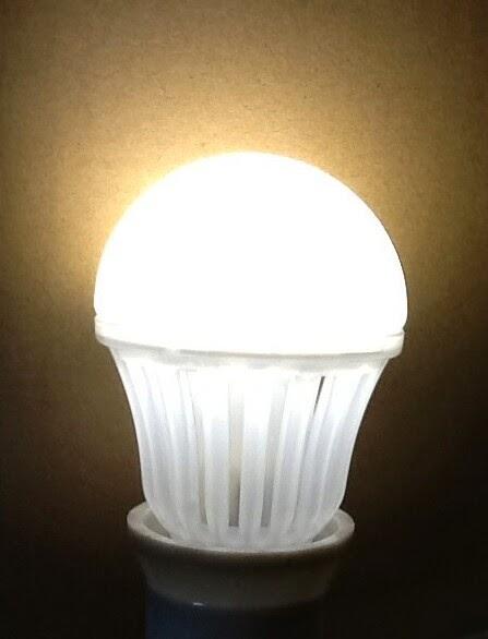 E27 LED Bulb 330゜