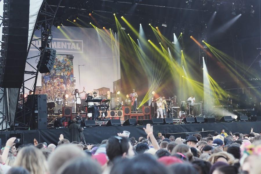 rudimental parklife festival manchester 2014