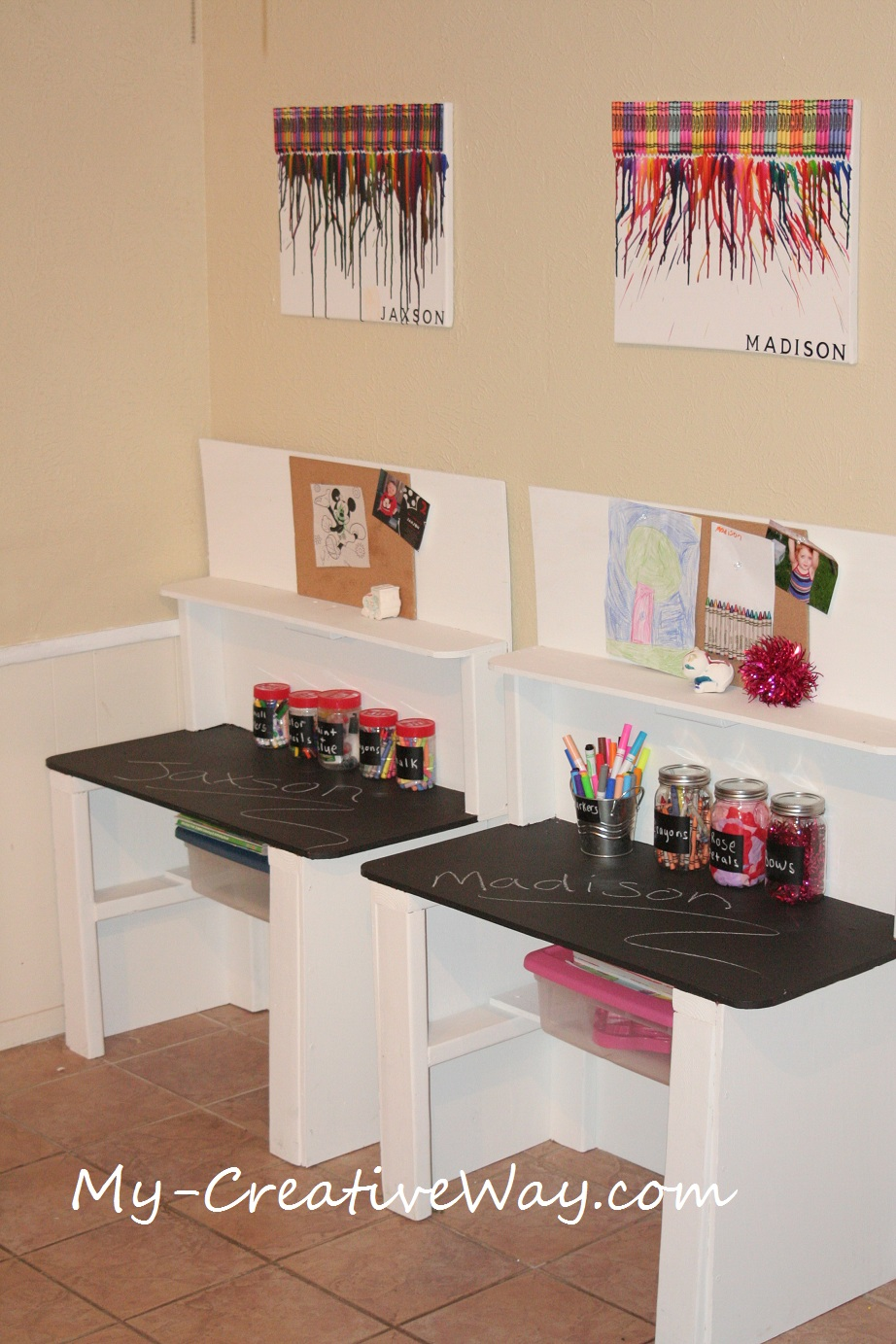My creative way kids art center tables for The home ideas centre