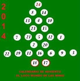 Calendario Adviento 2014