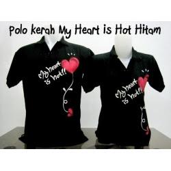 polo kerah my heart