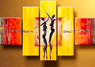 cuadro-minimalista-con-negras-africanas