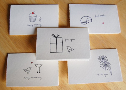Hand Drawn Cards Pinterest Challenge The Hansen Family