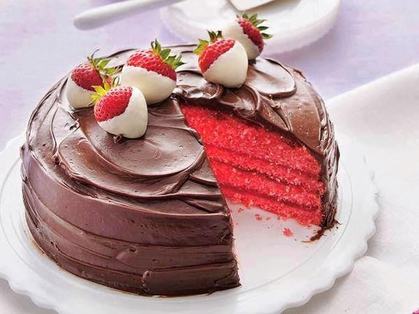 red velvet cake con ganache al cioccolato (clicca e condividi)