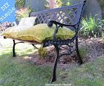 DIY banqueta jardín