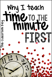Why I teach time to the minute first