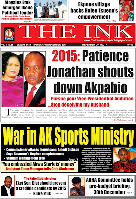 THE INK NEWSPAPER, UYO, AKWA IBOM STATE,