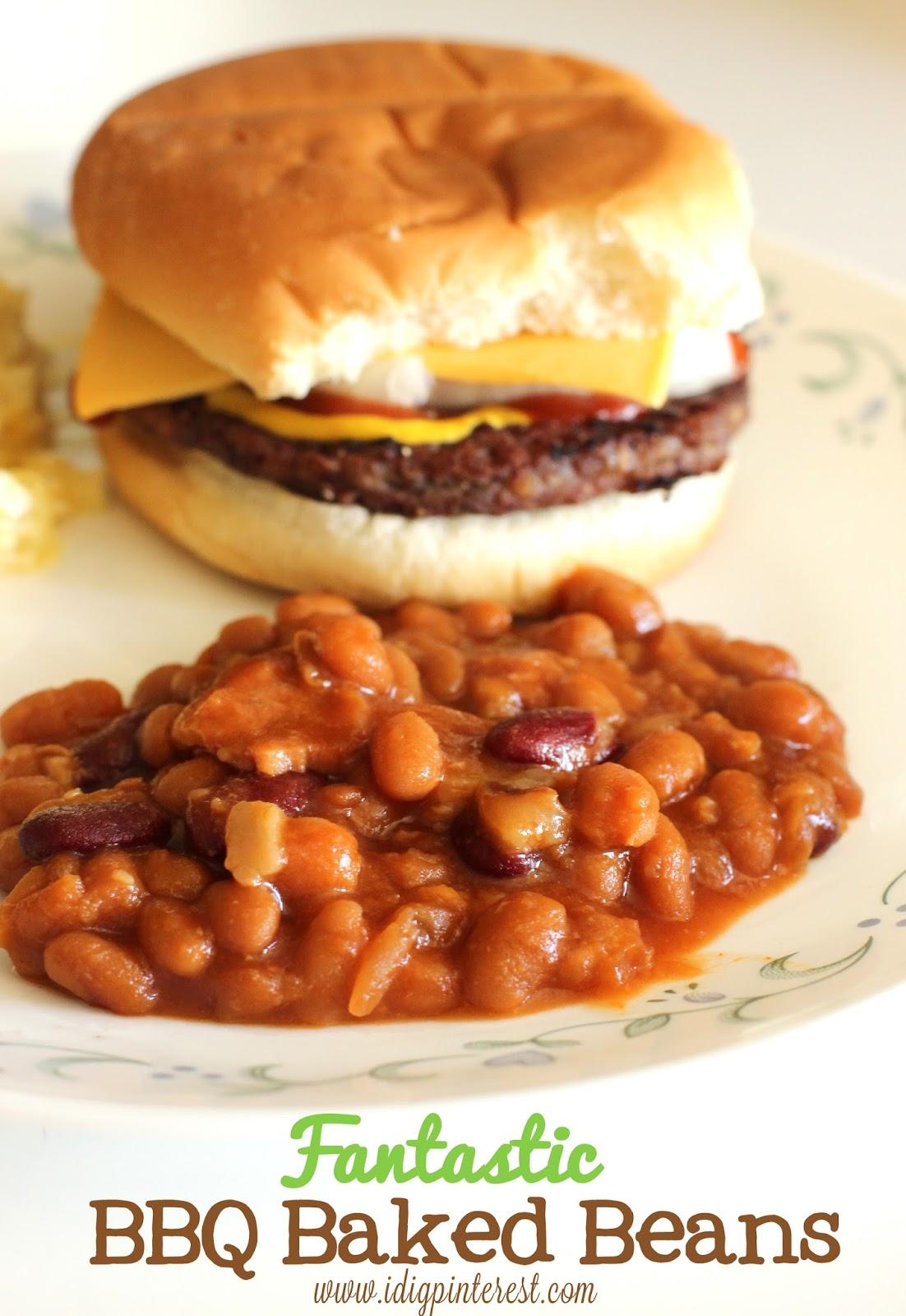 Dig Pinterest: Fantastic BBQ Baked Beans