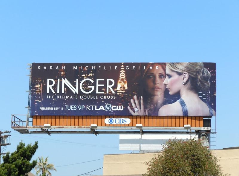 Sarah Michelle Gellar Ringer billboard