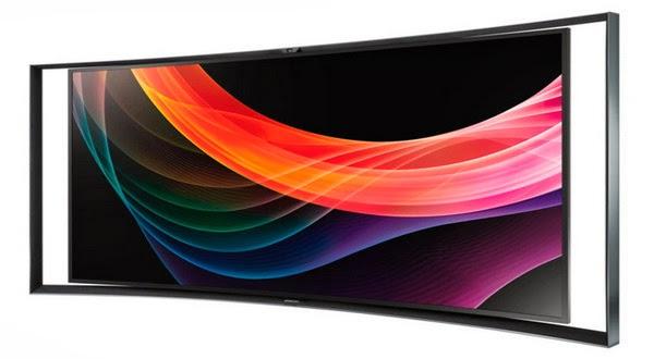 Samsung dan LG Hadirkan TV Layar Lengkung di Awal Januari