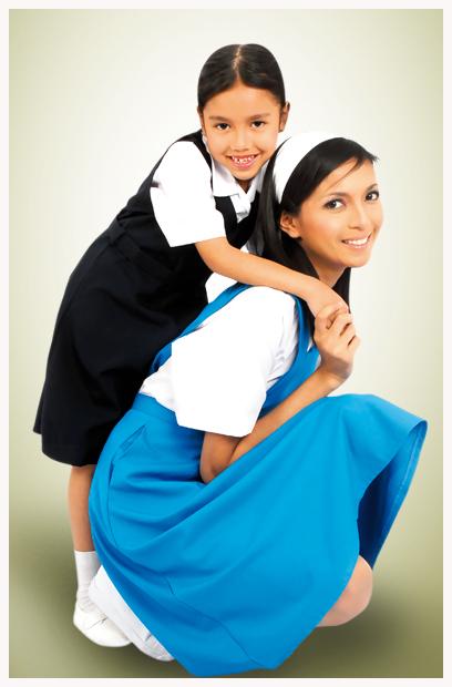 Berpatutan Pakaian Sekolah Perempuan Rendah Menengah