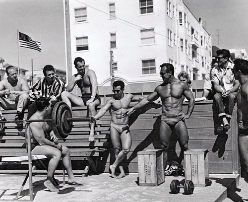 old muscle beach