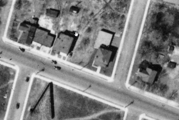 Aerial photo May 1933