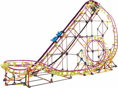 Thuderbolt Strike Roller Coaster Giveaway #KNEX
