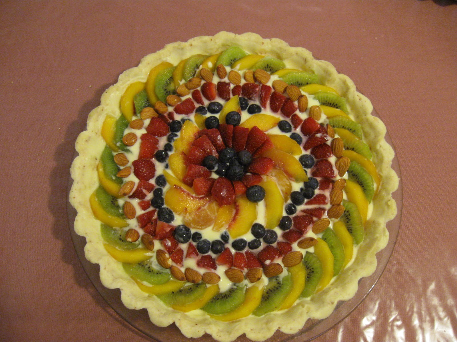 Como Decorar Una Tarta De Almendras Sin Gelatina