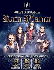 RATA BLANCA EN CIUDAD DEL ESTE (PARAGUAY) (Lugar a confirmar) - 16/08/2015