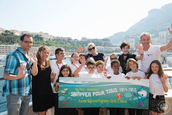 Princess Charlene of Monaco partecipated the Operation Snapper for All