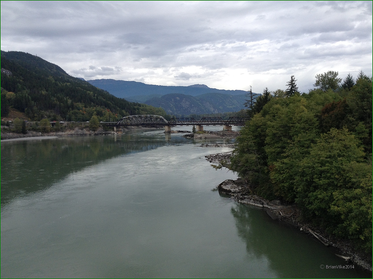 Northern interior british columbia old skeena bridge over for Terrace british columbia