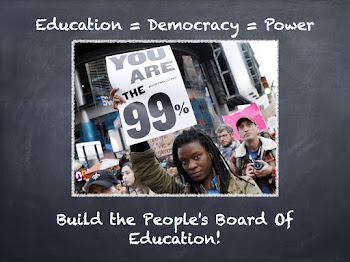 Build the People's Board Of Education!