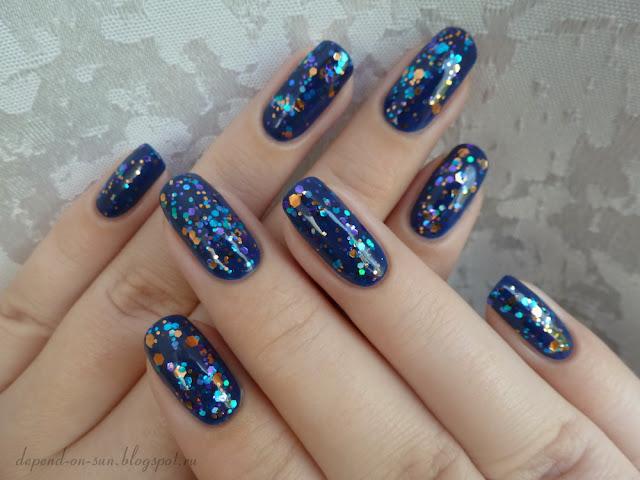 KBShimmer Bejeweled & Anny Blue marine