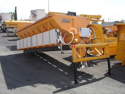 Nevada DOT Swap Loader Hopper