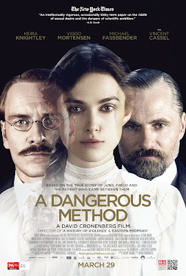 cinema just for fun: March 2012 A Dangerous Method Poster