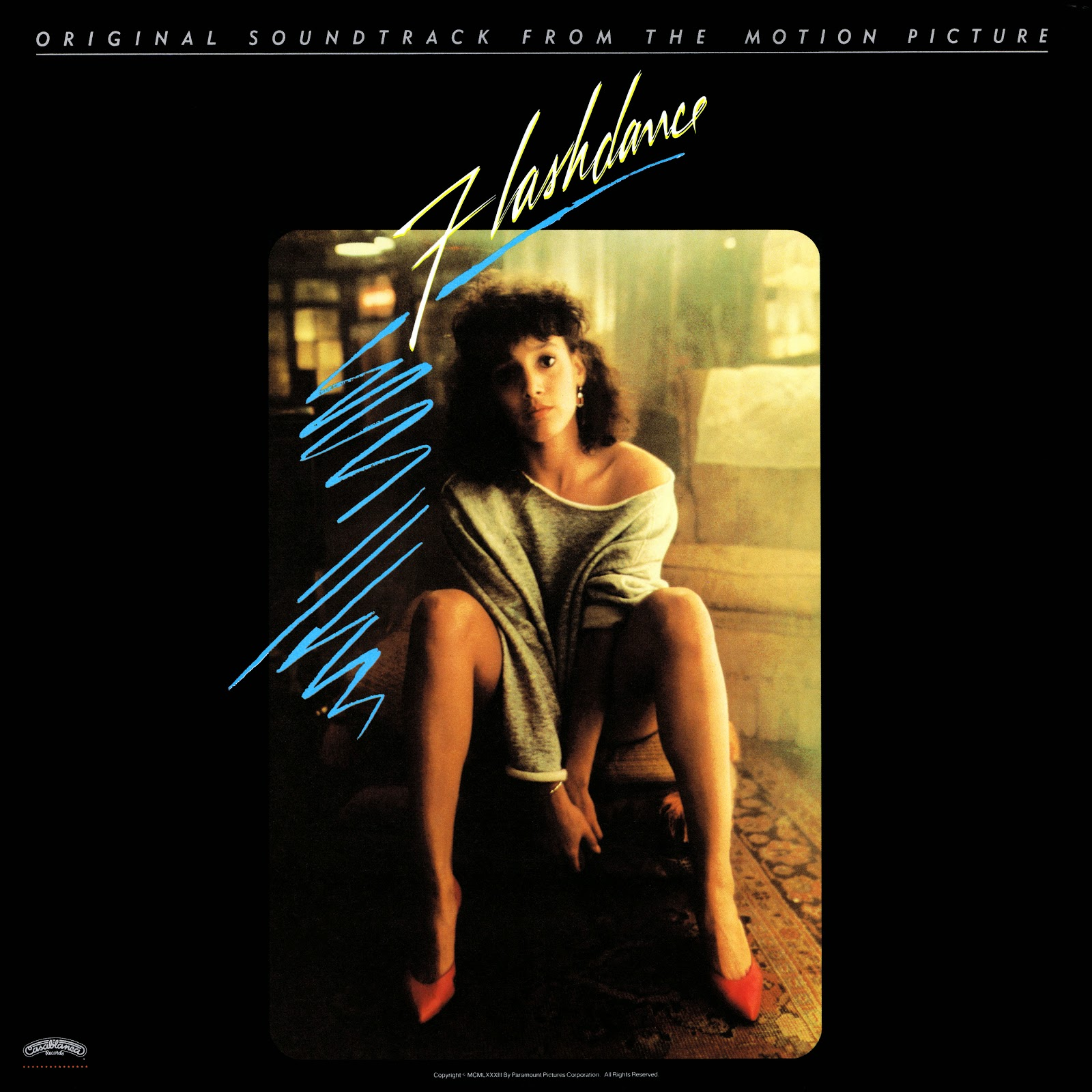 Music Crates: Flashdance Original Soundtrack Vinyl 1983