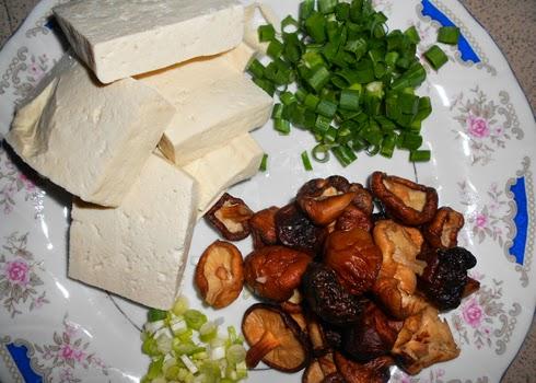 Cách làm đậu phụ om nấm hương ~ Món chay ngon 1