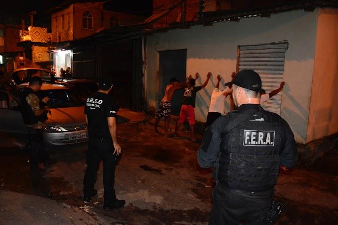 Polícia Civil deflagra operação para combater a criminalidade nas zonas oeste e centro-oeste da capital
