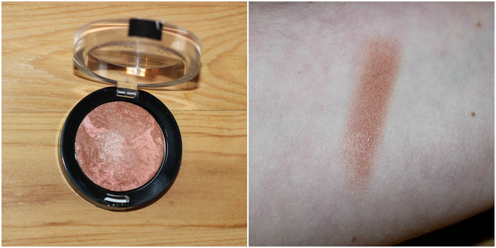 Maxfactor Creme Puff Blush In Alluring Rose Swatch