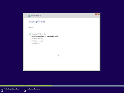 Setelah selesai, Windows 10 akan restart PC dengan sendirinya. Pada ...