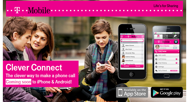 T-Mobile VoIP in UK-Clever Connect to make free calls like Bobsled in USA