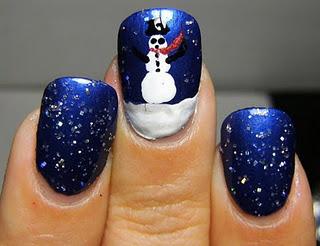 Christmas Nail Art Ideas -35