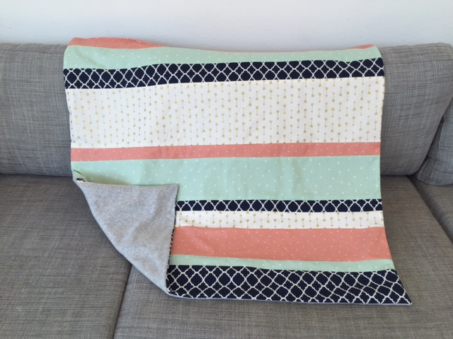 Feeding the Soil: Another Easy DIY Baby Quilt : baby quilt diy - Adamdwight.com