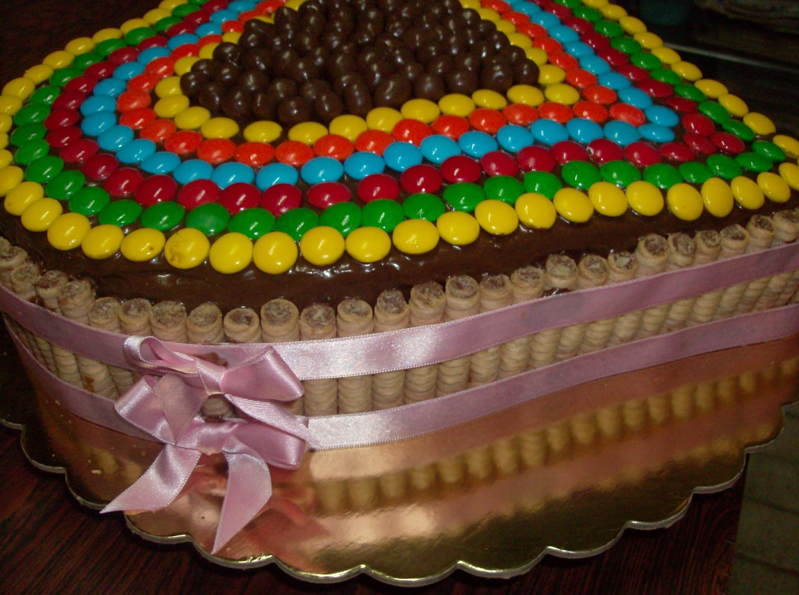 Tortas Decoradas con Pirulin Recetas - Recetario de Cocina