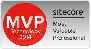 Sitecore MVP 2014 award