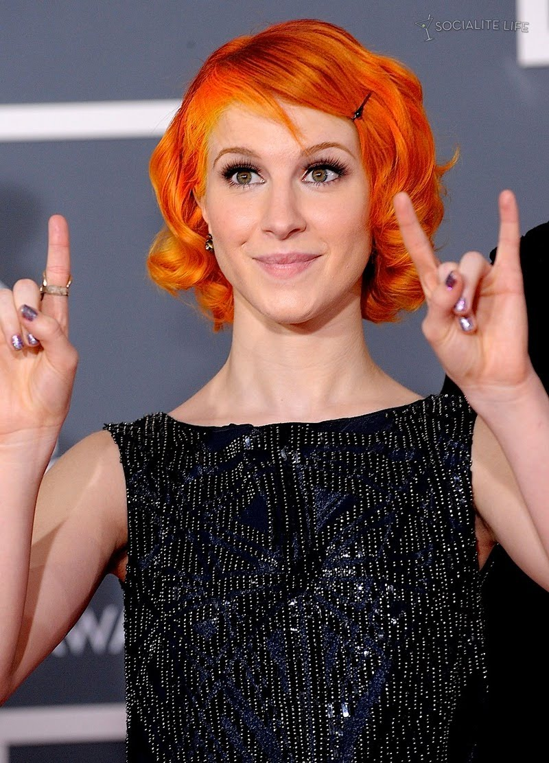 Emo Hair | Emo Hairstyles | Emo Haircuts: Hayley Williams ...