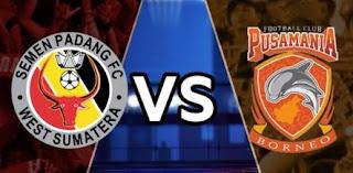 Semen Padang vs Pusamania Borneo FC