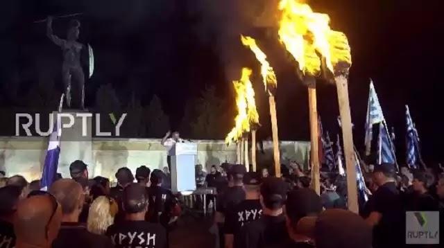 Δείτε το ρεπορτάζ του Russia Today από την τελετή Μνήμης Θερμοπυλών της Χρυσής Αυγής - (Βίντεο)