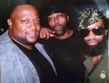 Chef Derrick Davis, Black Rob, & Fresh Dre