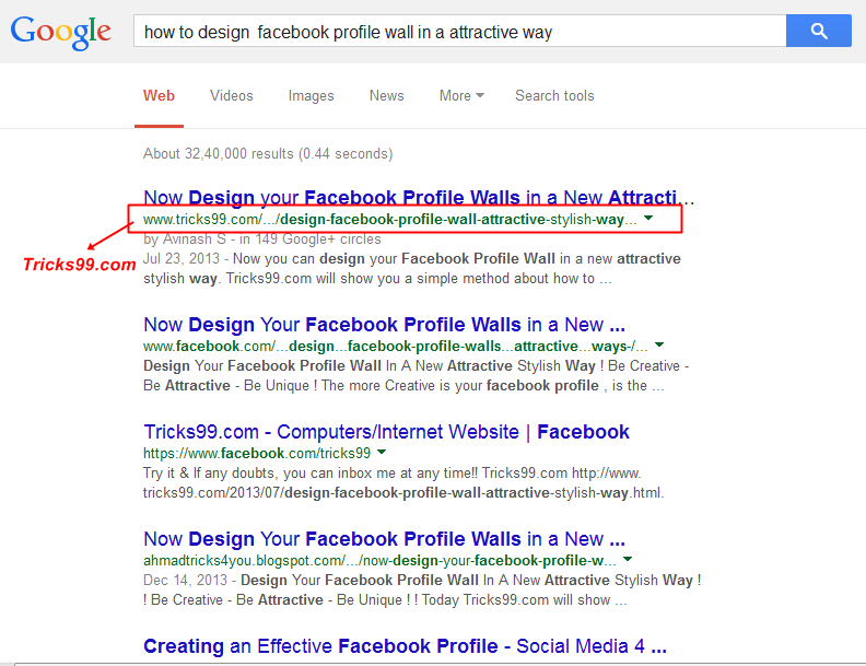 title-On page SEO-google-1st-page-search results