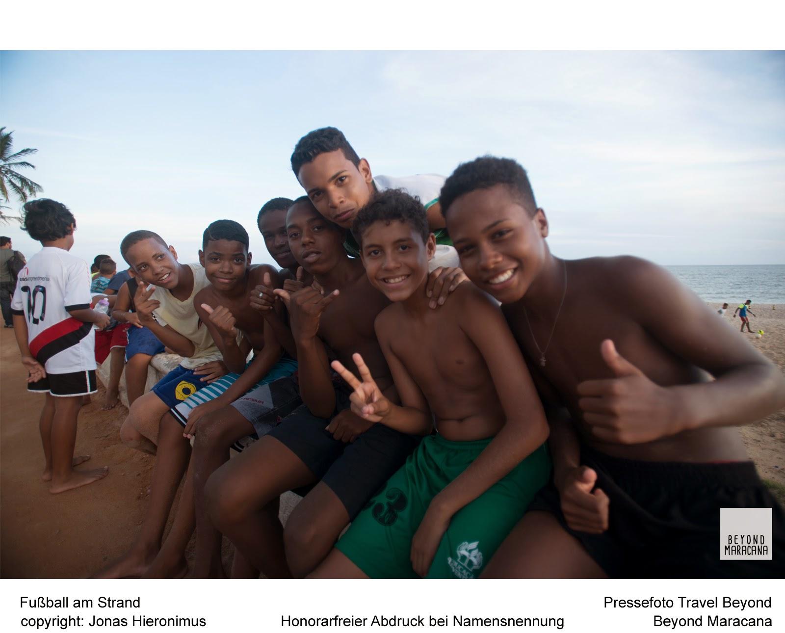 O projeto multimídia Beyond Maracana