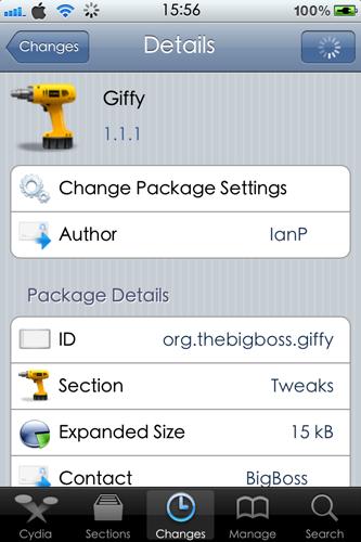 أداة Giffy لتشغيل صور GIF في تطبيق الصور للآيفون
