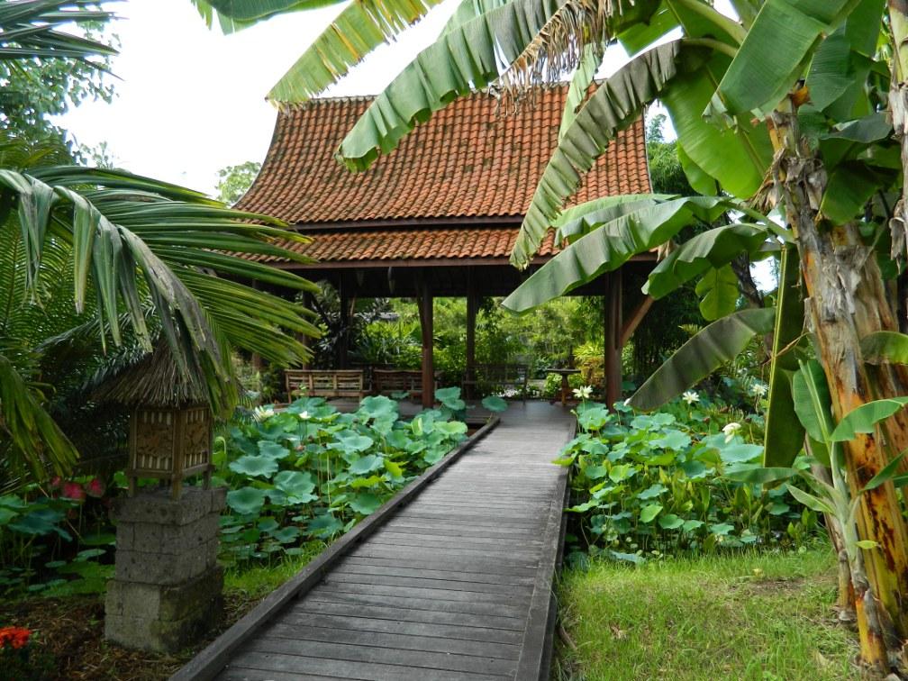 Asian Garden Thai Riverside Pavillion Naples Botanical Garden by garden muses-a Toronto gardening blog
