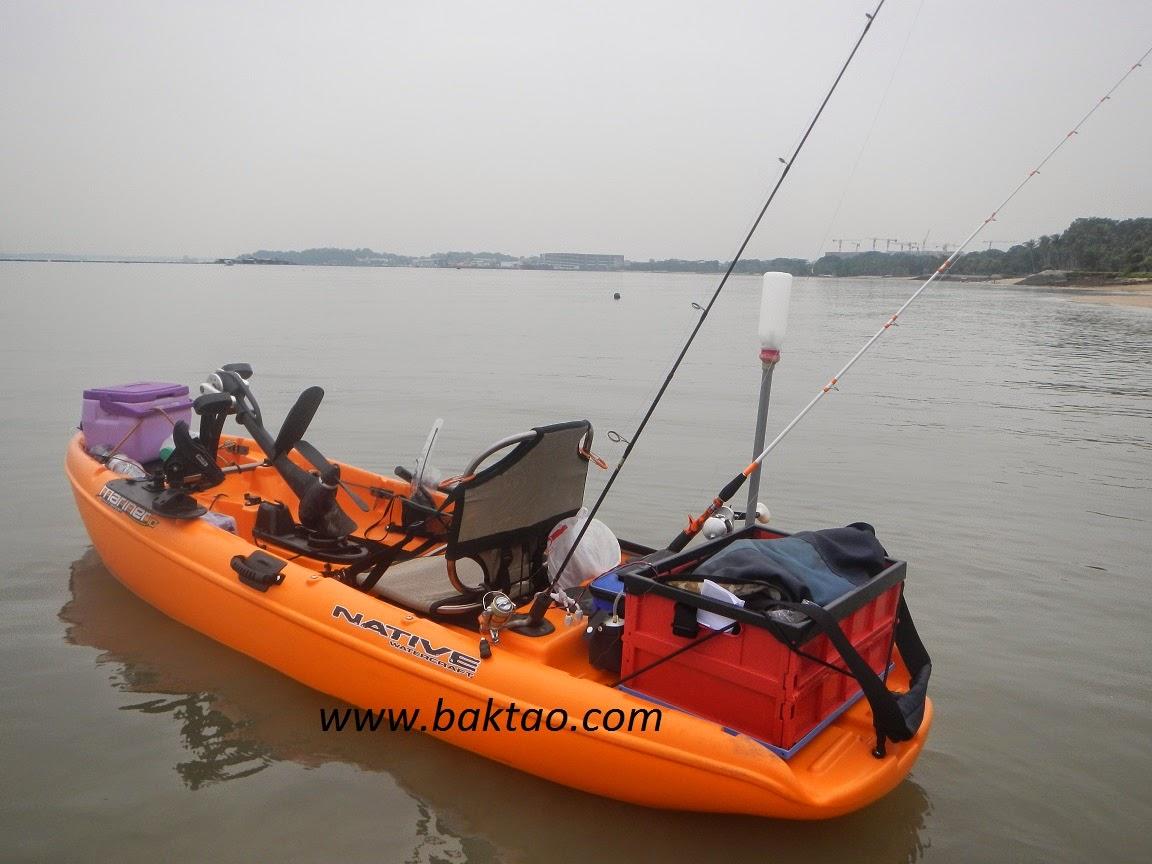 Baktao heaven native watercraft singapore kayak fishing for Kayaks for fishing