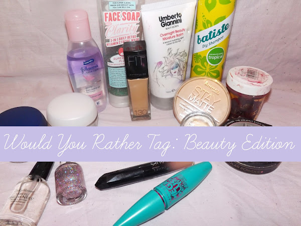 Would You Rather Tag: Beauty Edition