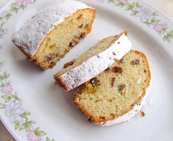 cake recipe, рецепт кекса