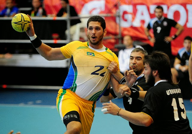 Brasil ya está en semifinales de ODESUR 2014 | Mundo Handball