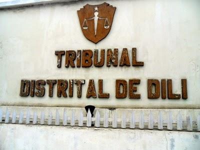 Seksaun Krime Tribunal Distrital Dili (TDD), Kuarta (22/10), haruka